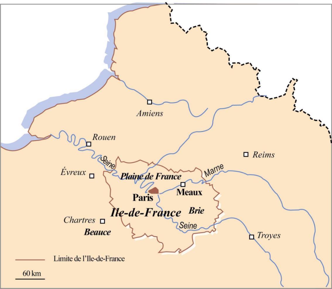 Meaux y la Región de Brie